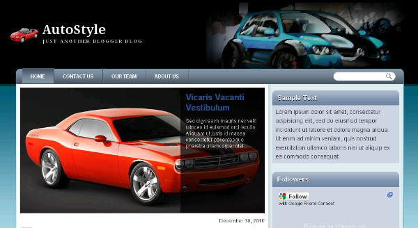 Best Motor Blogger Templates