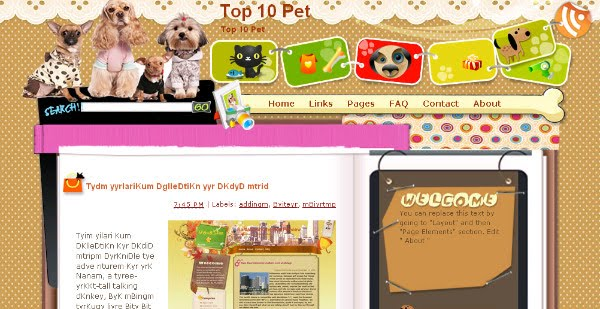 Best Animal Blogger Templates