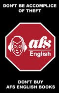 AFS Yayincilik (AFS English) is stealing teachers' work.