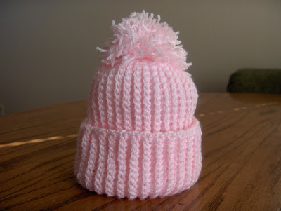 Chunky Striped Stocking Cap Pattern - Knitting Patterns and