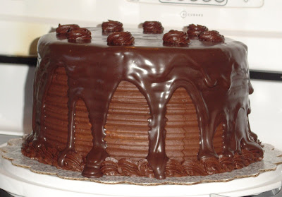 For the Love of Baking: Extreme Chocolate Cake!