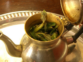 Moroccan Min Tea