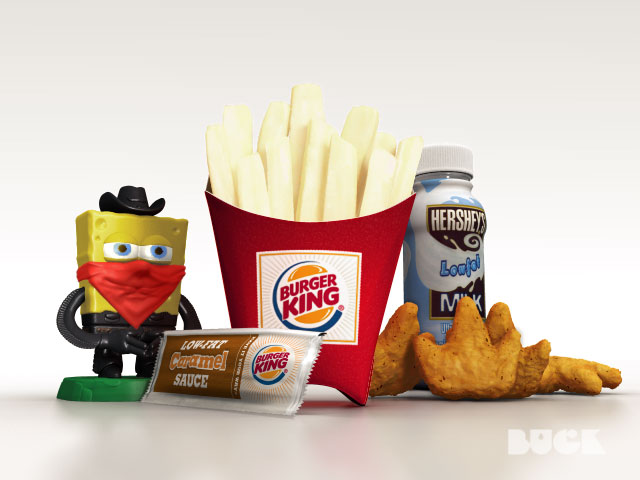 Burger King Kids Club Gargoyles Slide Show