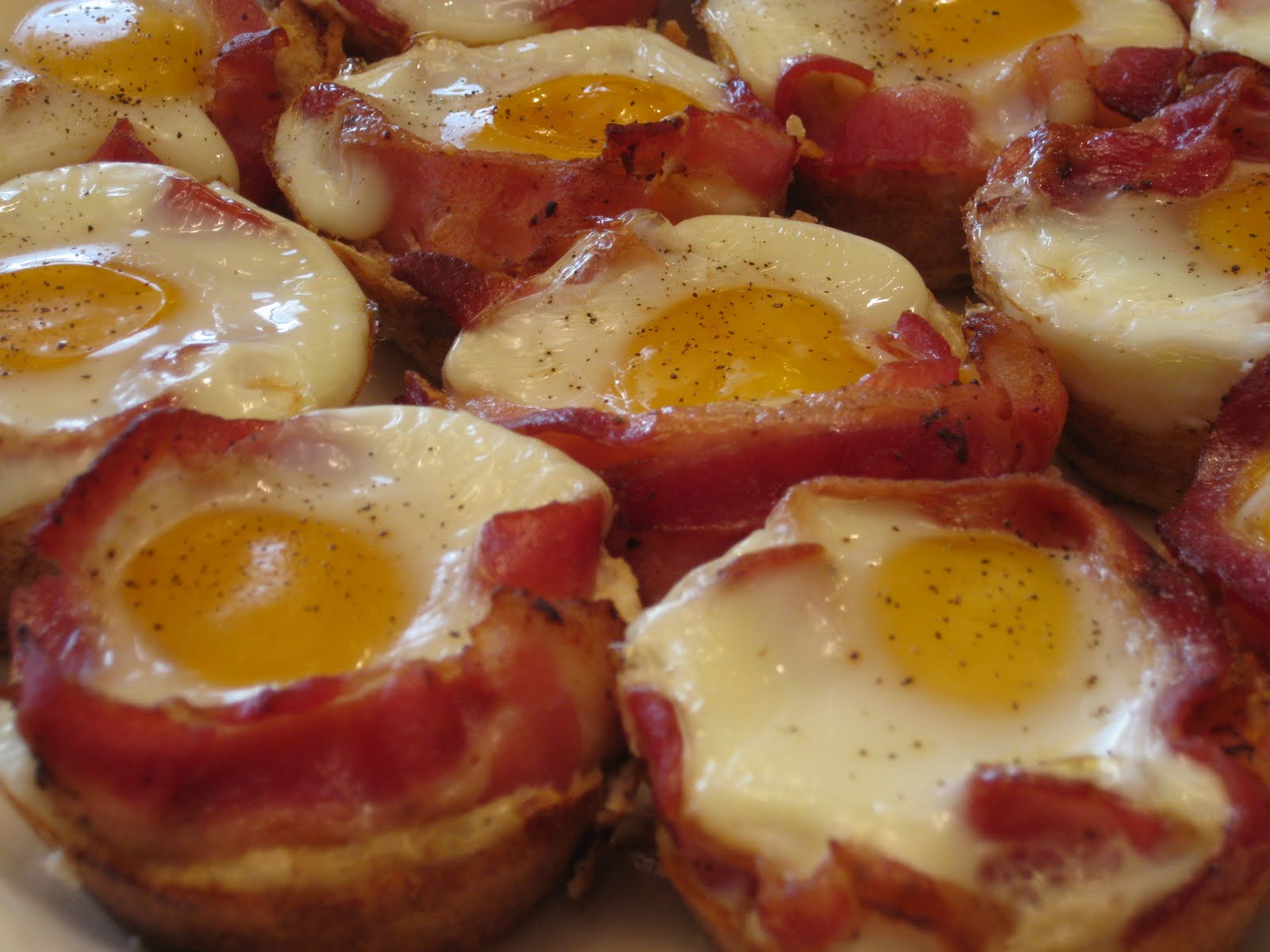 Cincy Dinner Club: Bacon Egg and Toast Cups