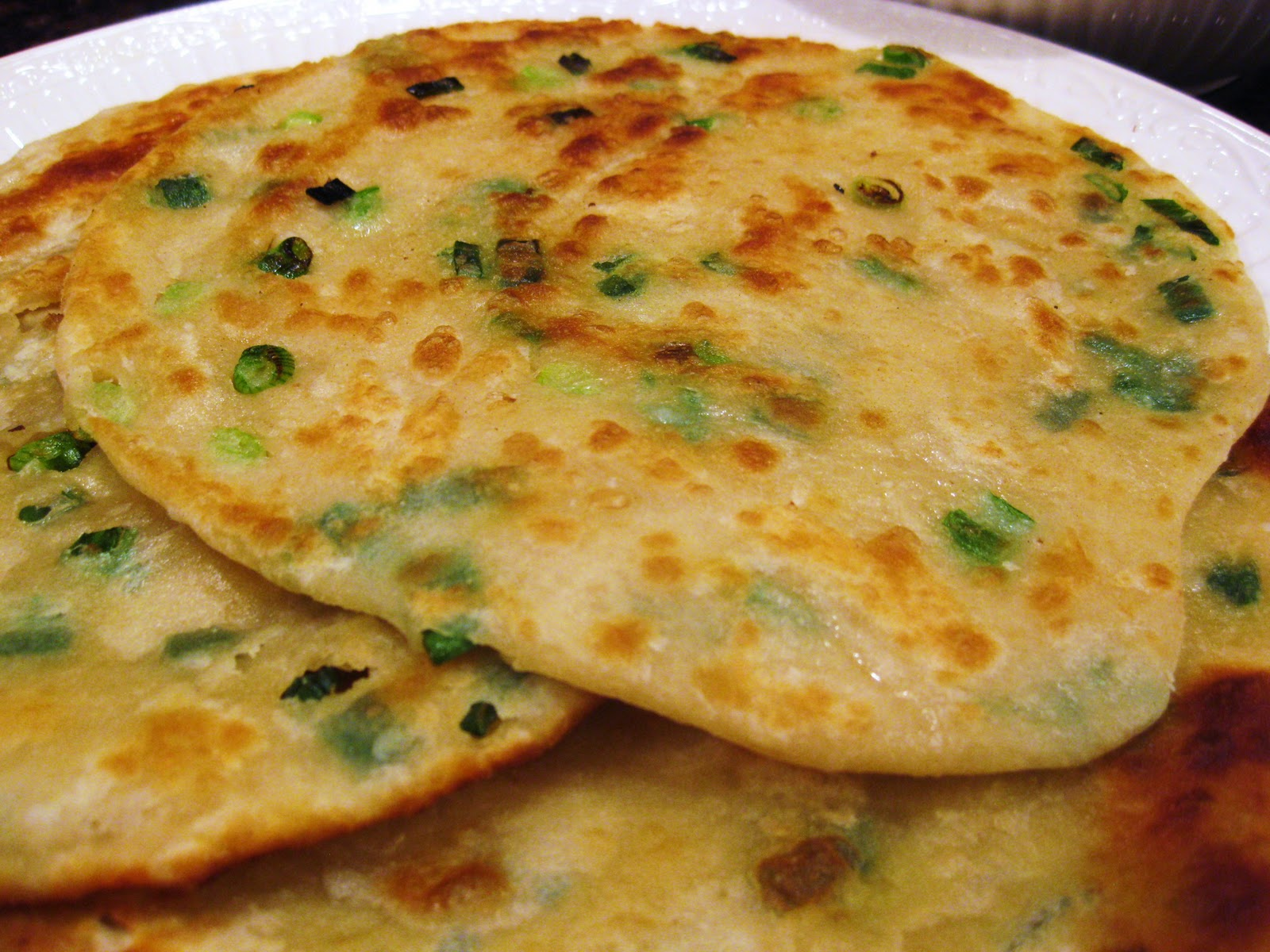 ... Kitchen Chronicles: Chinese Scallion Pancakes and Asian Beef