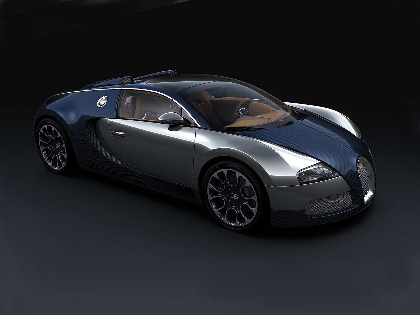 Bugatti-Veyron-Sang-Bleu-04 Gorgeous Bugatti Veyron Grand Sport Vitesse Bleu Cars Trend