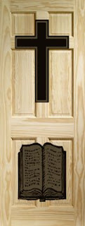 Cross and Bible Door . & Junction Home Services: Cross and Bible Door