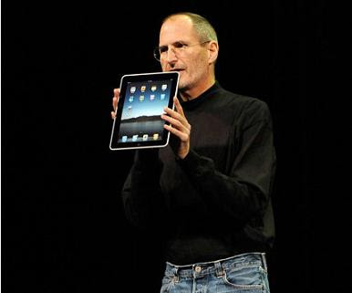 ipad steve jobs apple apps presentacion