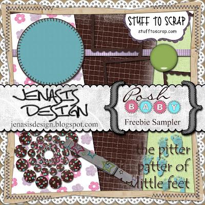 http://jenasisdesign.blogspot.com/2009/05/posh-baby-freebie.html