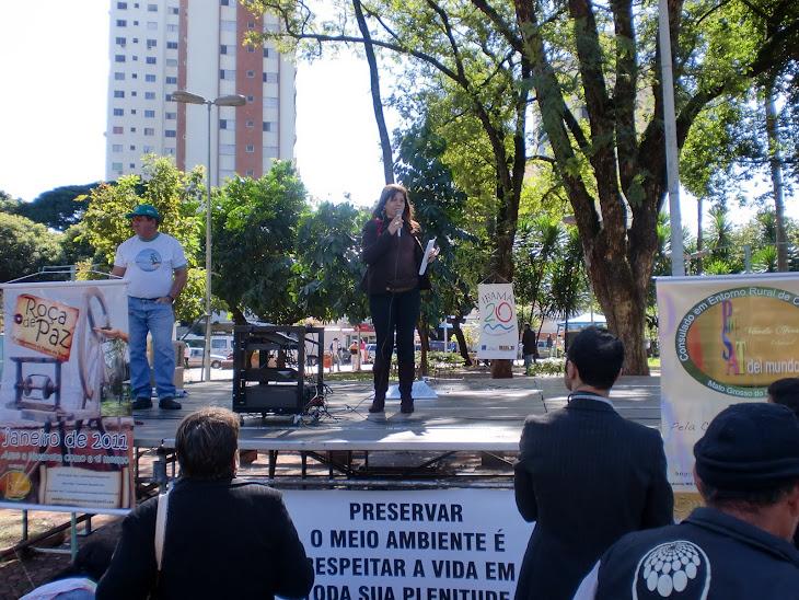 Roça de Paz no Dia Mundial do Meio Ambiente