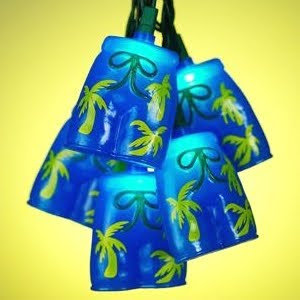 palm tree party lights