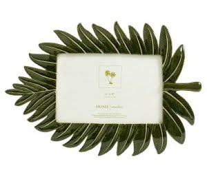 palm leaf photo frame