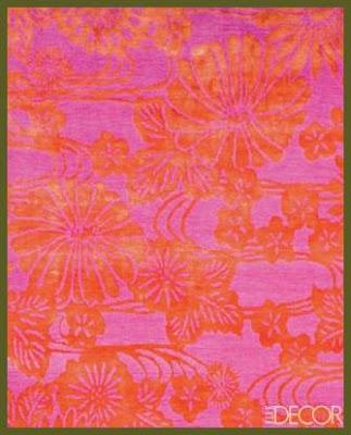 Silk Hand Knotted Rug - Emma Gardner :  rug soft gold silk