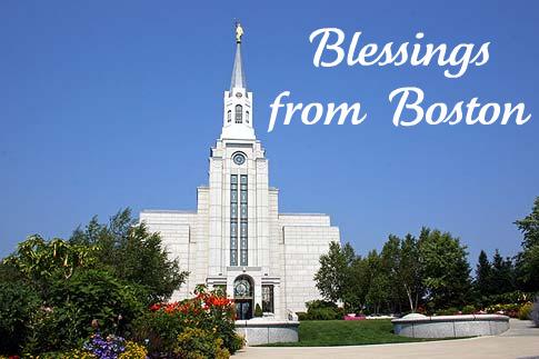 Blessings from Boston