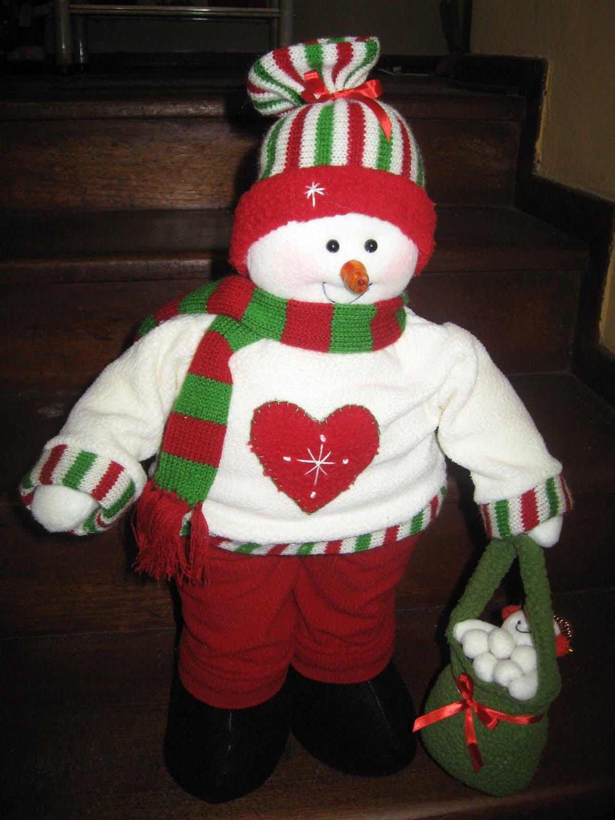 Mu ecos de navidad a y c - Manualidades munecos de navidad ...