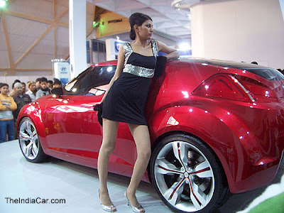 New Delhi 10th Auto Expo 2010