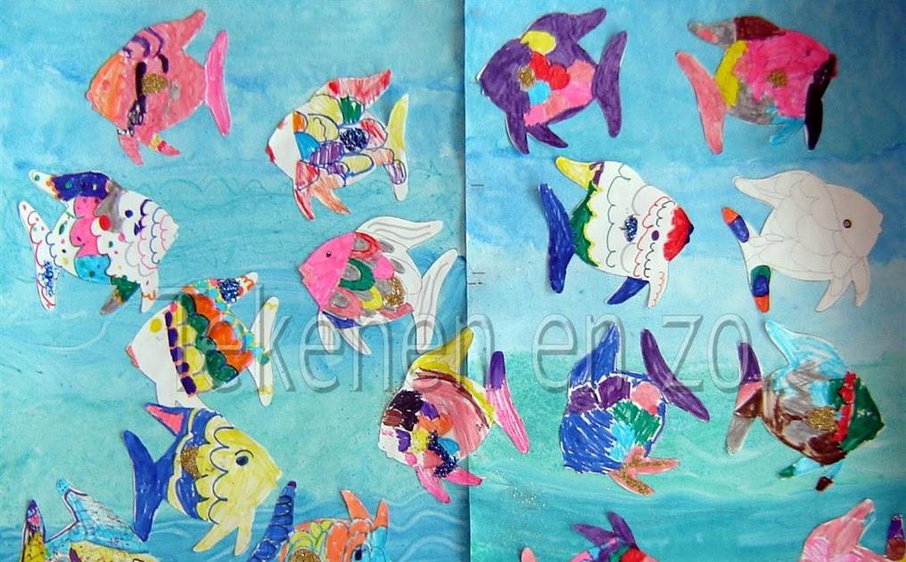Tekenen En Zo De Mooiste Vis Van De Zee