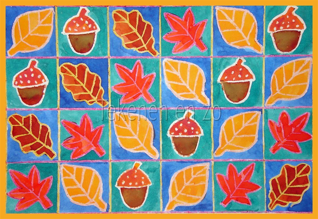 Tekenen En Zo Hoera Het Is Herfst