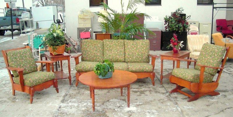 Mid Century Hard Rock Maple U0026 Furniture Consignment Stores