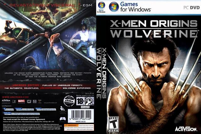 15 hours ago DOWNLOAD X MEN ORIGINS WOLVERINE PC Games by jun. . 14 torren