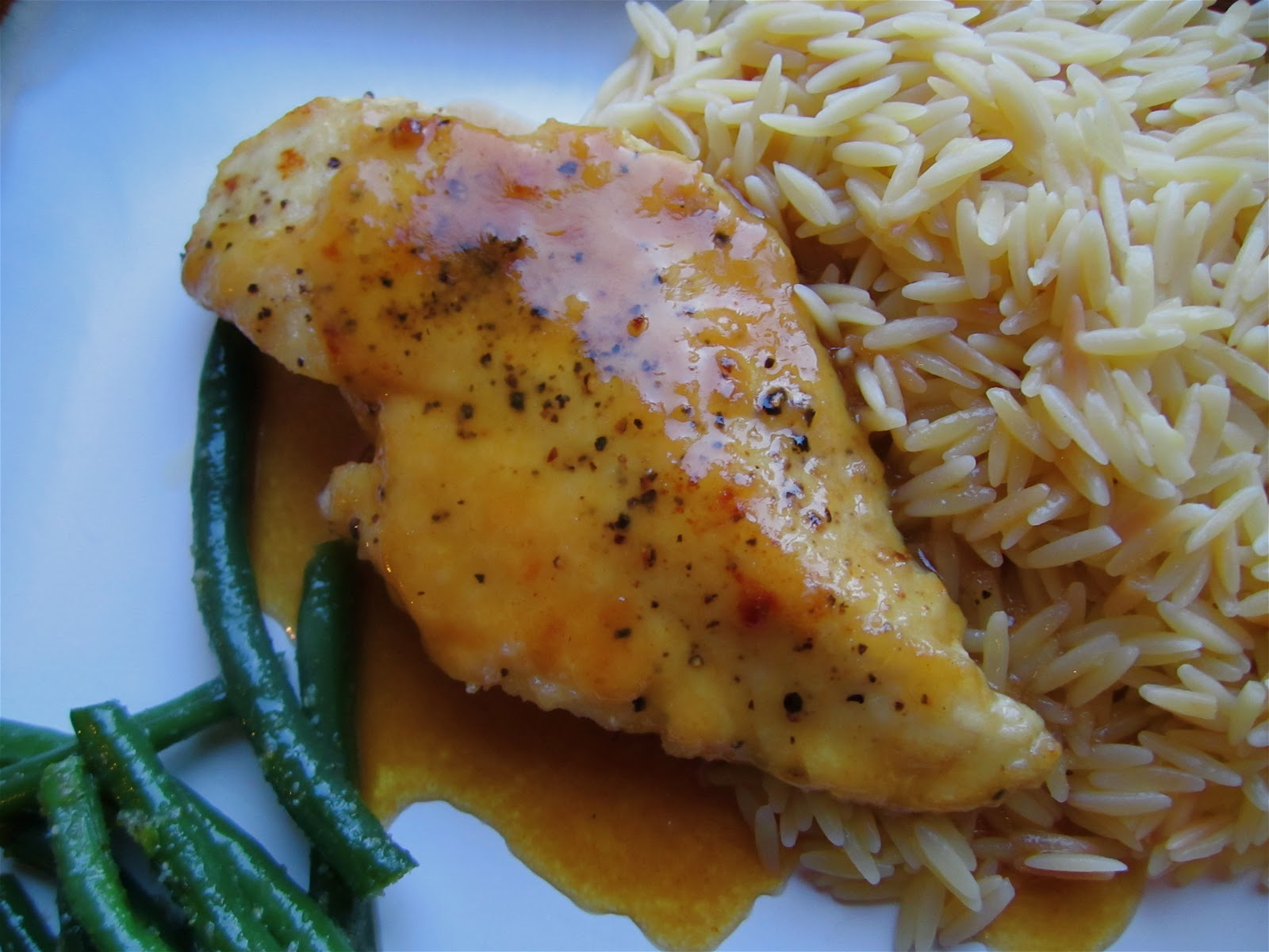 Honey Lemon Chicken Recipe — Dishmaps