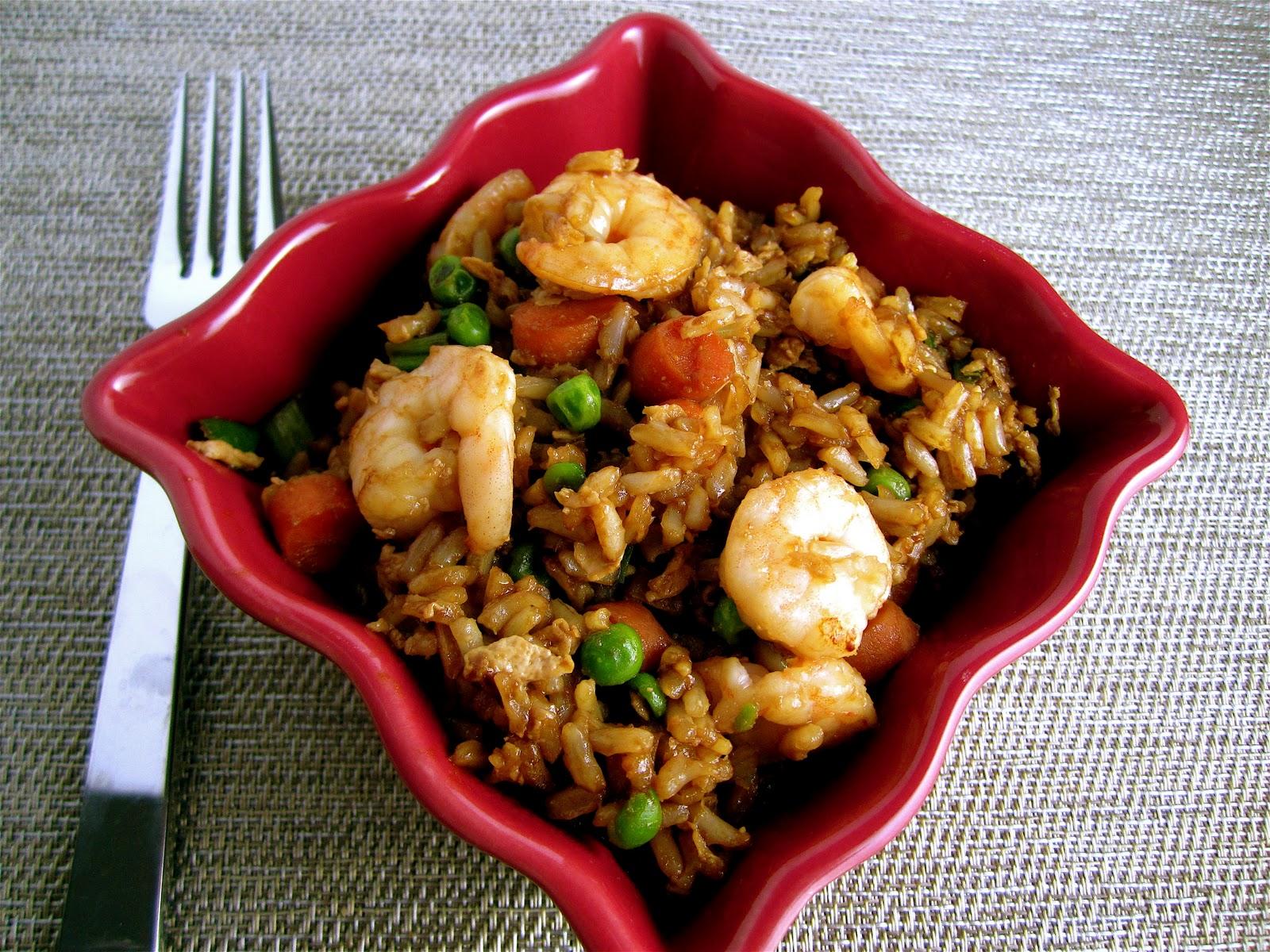 Stephanie Cooks: Shrimp Fried Rice