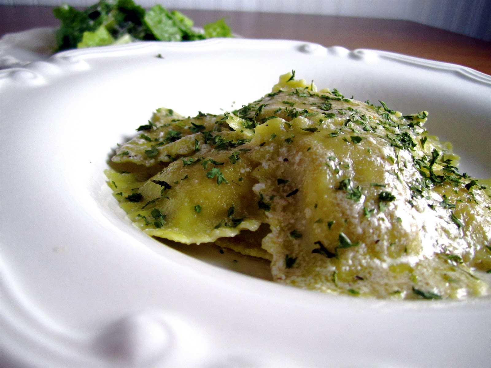 Chestnut Ravioli With Sage Browned Butter Recipes — Dishmaps