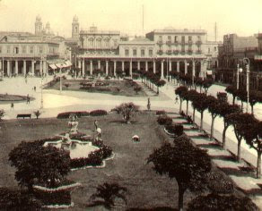 Plaza de la Independencia, Montevideo 1900