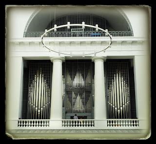 Vista del órgano