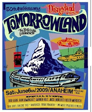 The 1959 Tomorrowland 50th Anniversary Event Poster