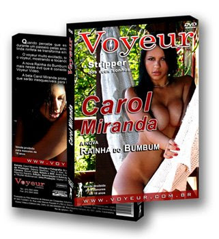 Download do dvd erótico Voyeur de Carol Miranda