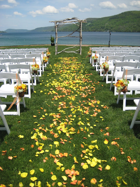 Cooperstown Wedding Flowers - Otesaga Resort