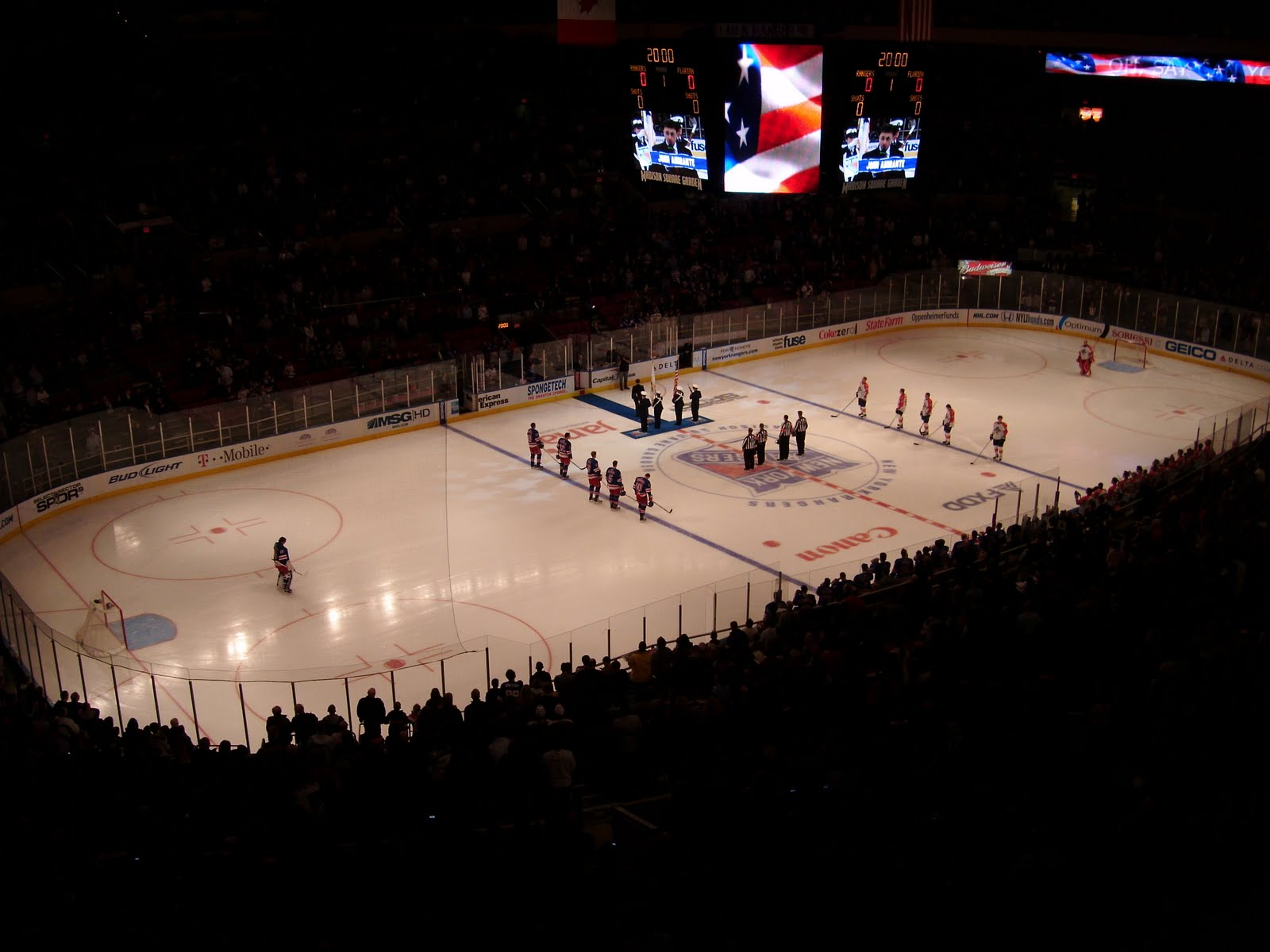 Madison Square Garden Florida Panthers At New York