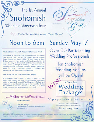 The Snohomish Wedding Guild Presents the 1st Annual