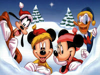 xmas disney wallpaper