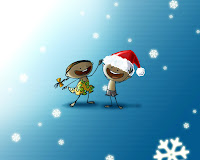 christmas kids wallpaper high resolution