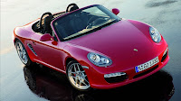 Red Boxster S Wallpaper