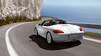 White Boxster Porsche Car