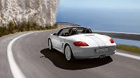 White Boxster Porsche Car