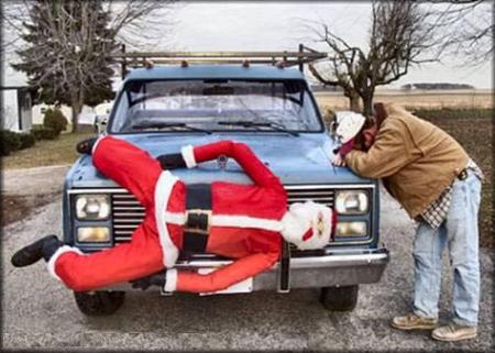 Santa The Hitchhiker