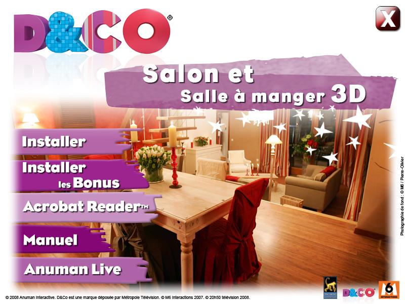 Utilitaires windows d co salon et salle a manger 3d for D co salon et salle a manger
