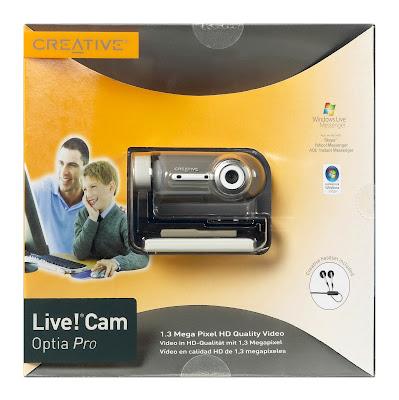 Creative Live!® Cam Optia Pro Webcam