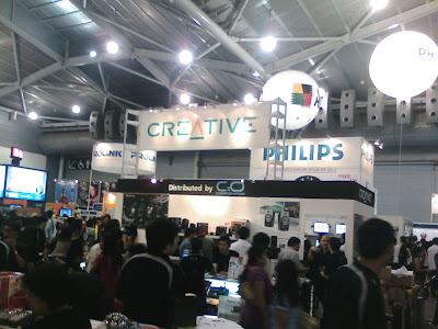 Creative Booth @ SITEX 2007