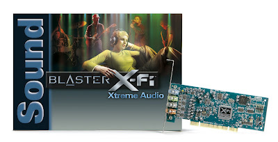 Creative Sound Blaster X-Fi Xtreme Audio Installation CD / Driver / Software Free Download