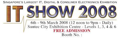 Creative @ IT Show 2008
