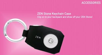 Creative Zen Stone Keychain