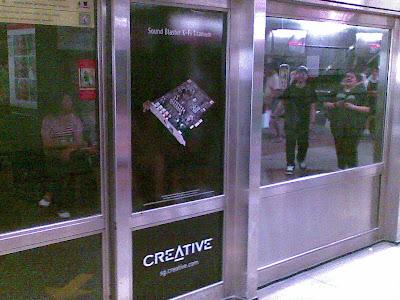 Creative Ads @ Dhoby Ghaut MRT