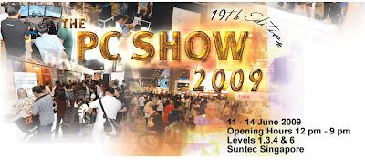 Creative @ PC Show 2009