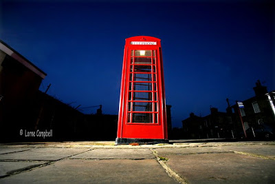RedBubble Telephone Box