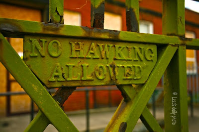 Sign No Hawking Leeds